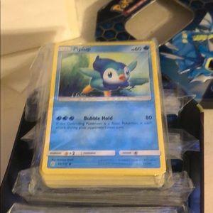 60 Pokémon cards , mix of uncommon/common cards